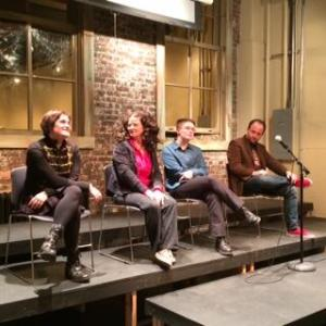 GRNW 2014 authors Astrid Amara, Ginn Hale, Laylah Hunter, and Samuel Jarius Pettit